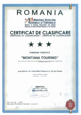 Pension Montana Touring | accommodation Nehoiu