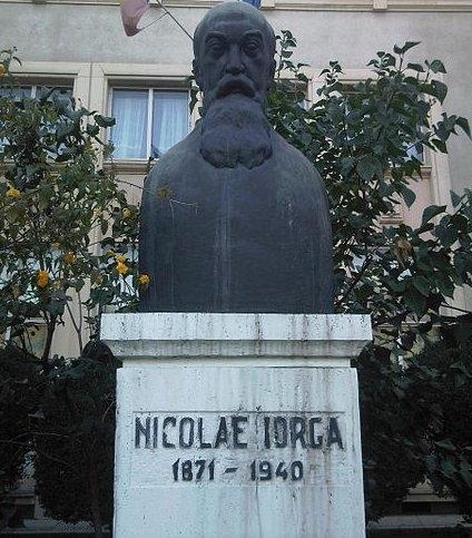 Bustul Lui Nicolae Iorga Din Bucuresti