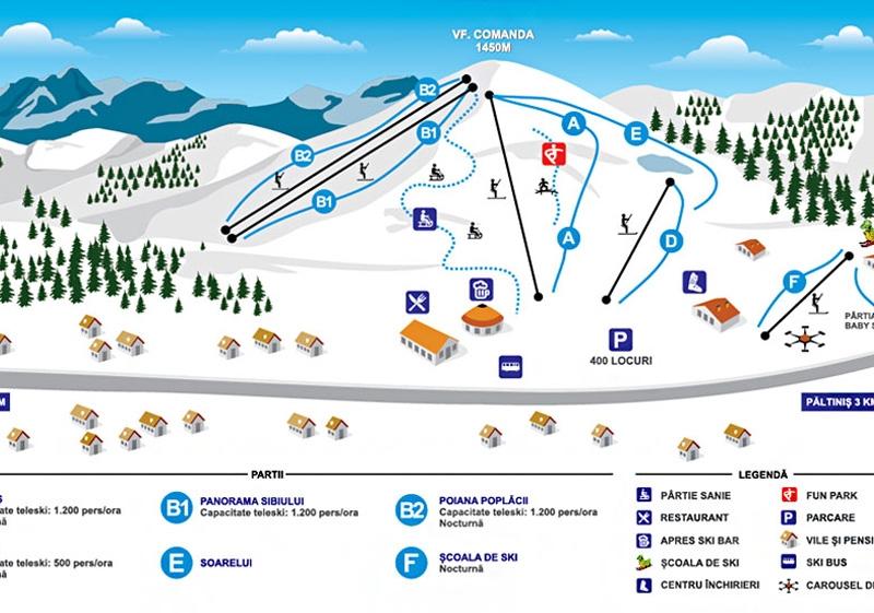 Partie Ski Soarelui Paltinis