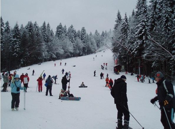 Partie ski Clabucet Scoala Predeal