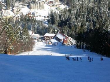 Partie ski Clabucet Sosire Predeal