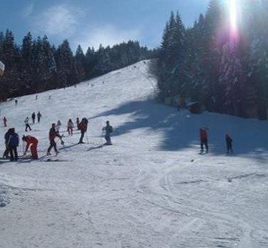 Partie ski Clabucet varianta Predeal