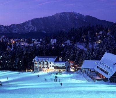 Partie ski Garbova Predeal