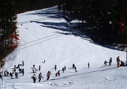Partie ski Subteleferic Predeal