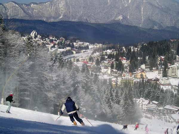 Partie ski Subteleferic varianta Predeal